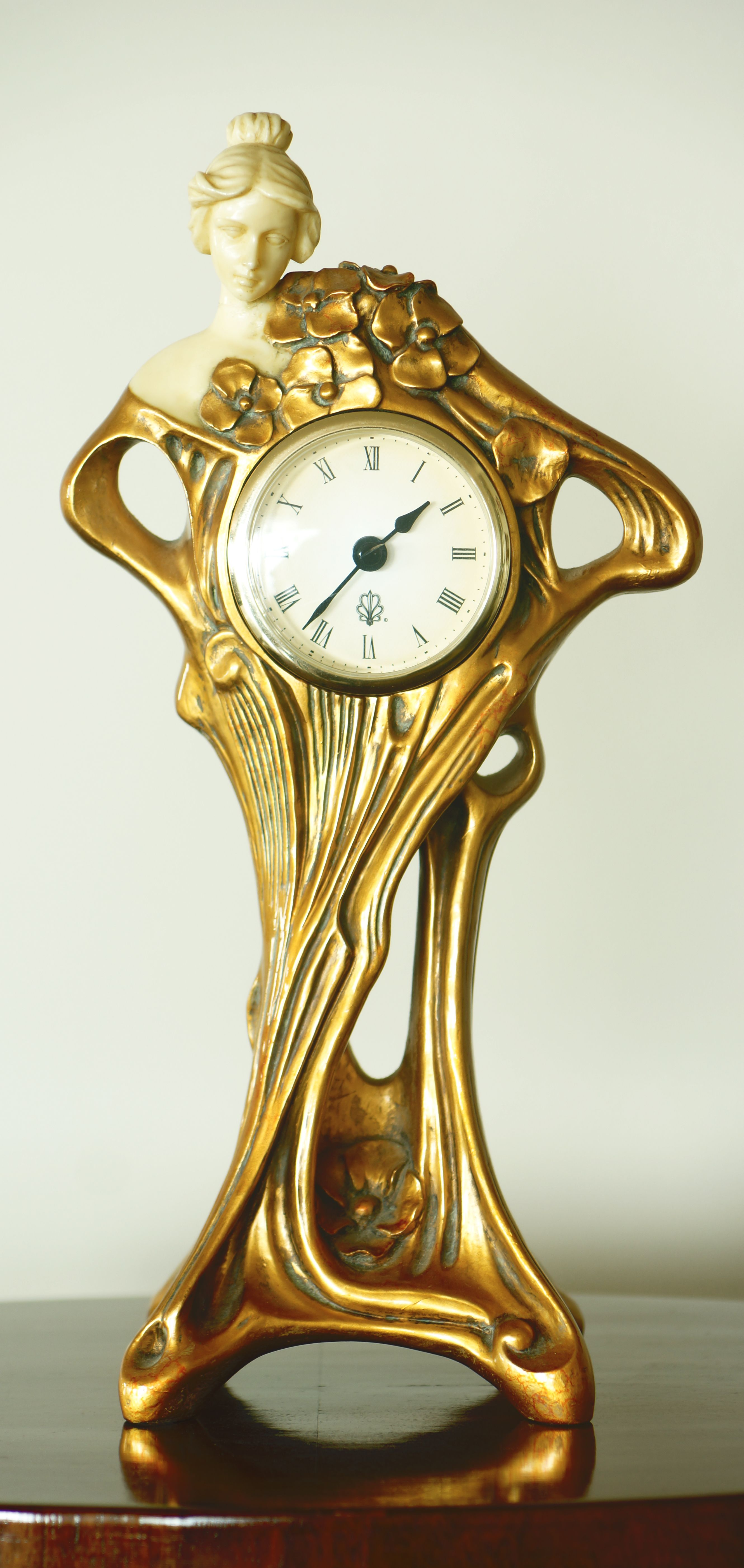 Art Nouveau Clock,E. Bakla collection. | 411 Art Nouveau / My ...