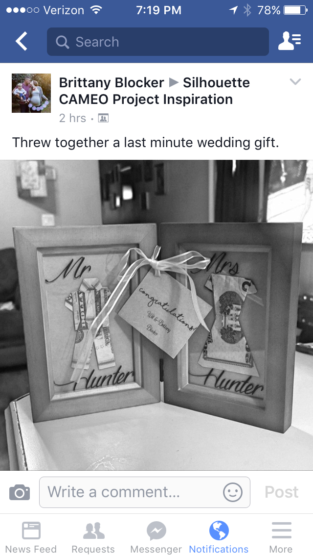 Pin by Nikki Just on Cameo Last minute wedding gifts