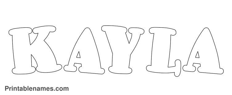 makayla coloring pages - photo#12