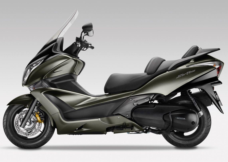 Honda Sw T600 Scooter Motorcycle Honda Bikes Trike Motorcycle