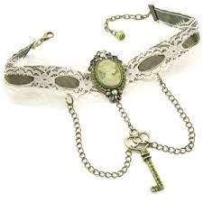 Image result for victorian ribbon choker