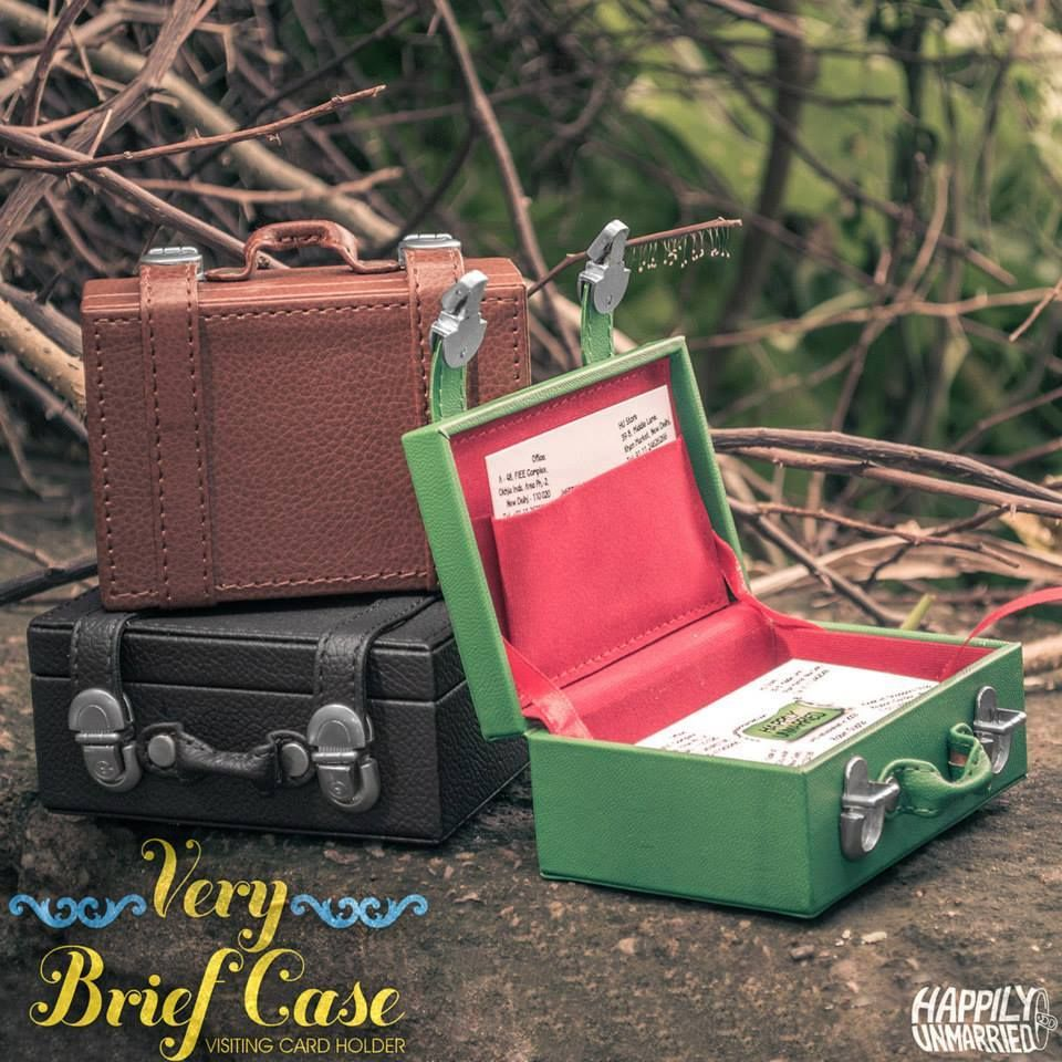 A Very Briefcase visiting card holder #HappilyUnmarried ...