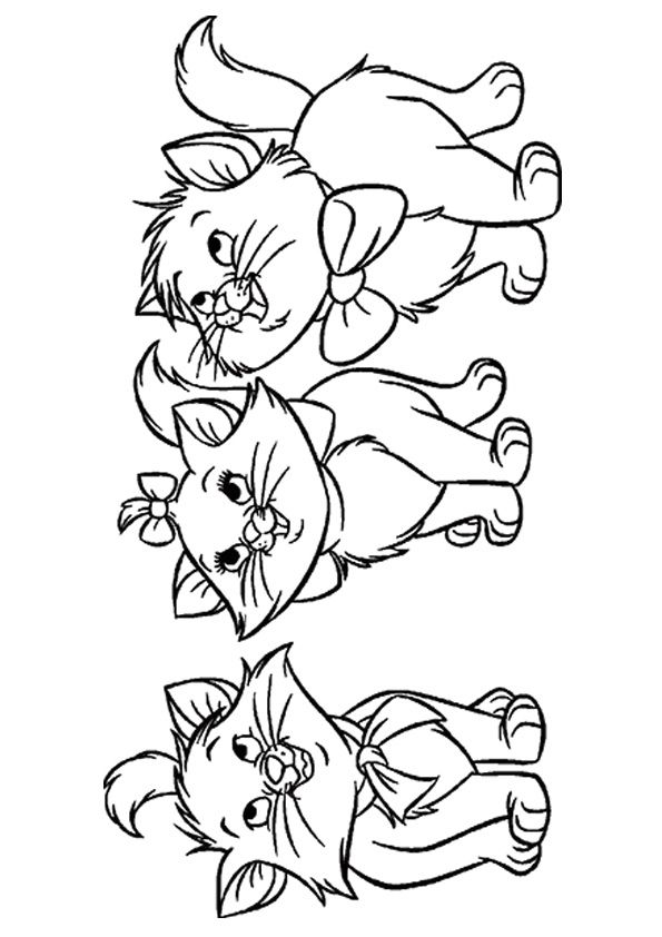 15 Lovely Kitten Coloring Pages For Your Little Ones Coloring Pages Disney Coloring Pages Blank Coloring Pages