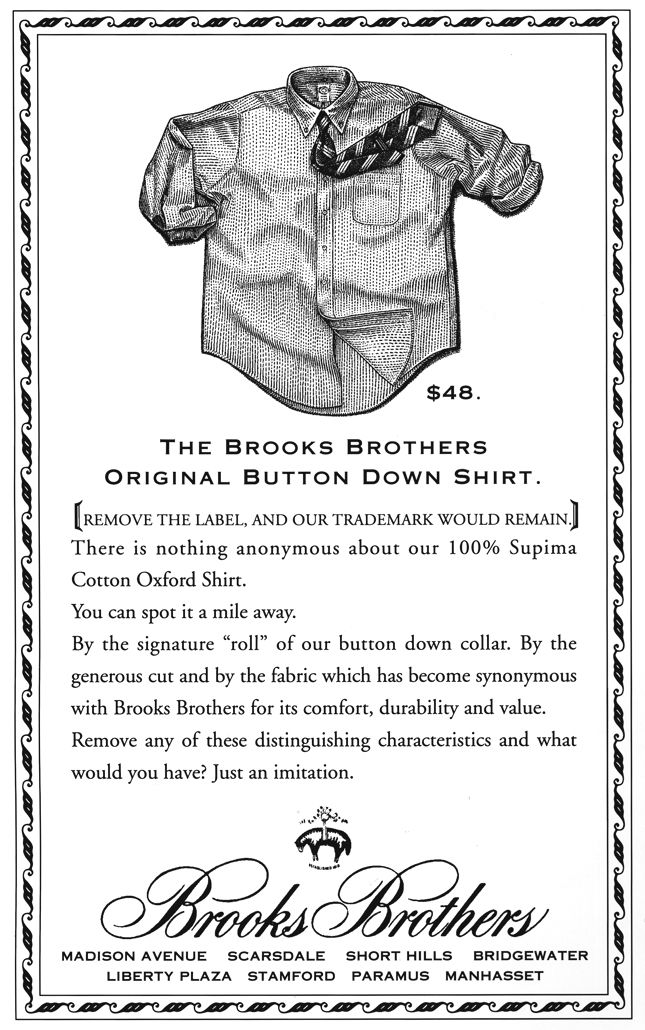 sleek promo code detailed pictures Brooks Brothers ad campaign with stippled shirt. | Fashion ...