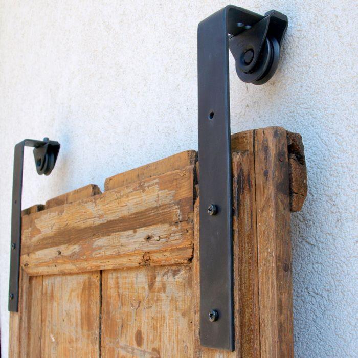 Kit Binario per Porta Scorrevole esterno muro Le Fabric lunghezza ...