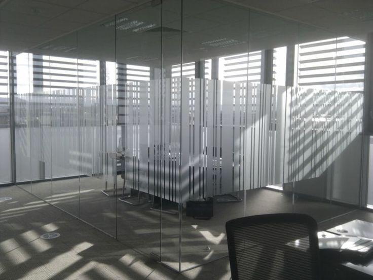 Barcode Glass Manifestation Office Glass Glass Wall