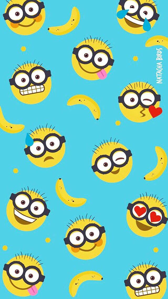 Minions Home Screen Tumblr Wallpaper Emoji Wallpaper