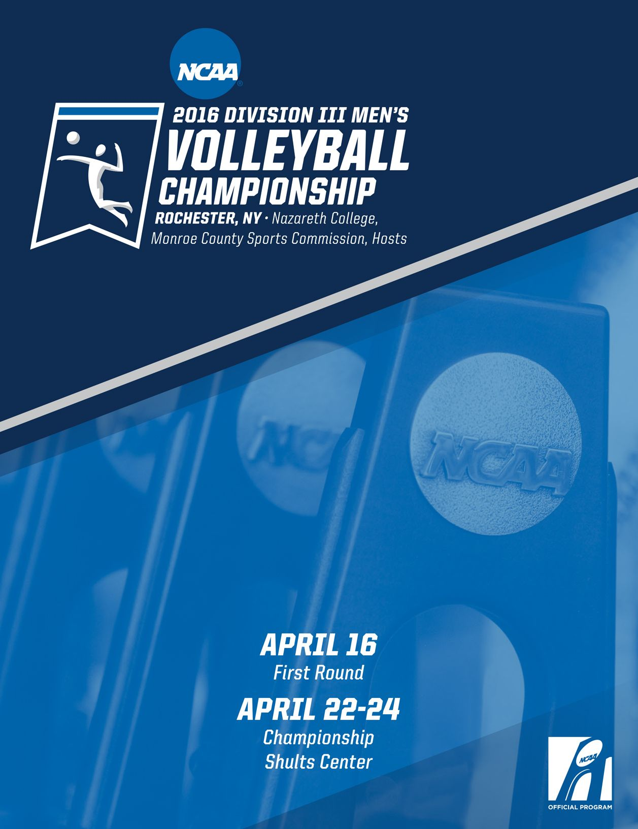 The Official 2016 Ncaa Division Iii Men S Ncaa Volleyball Championship Digital Guide Ncaa Athletic Center Mens Volleyball