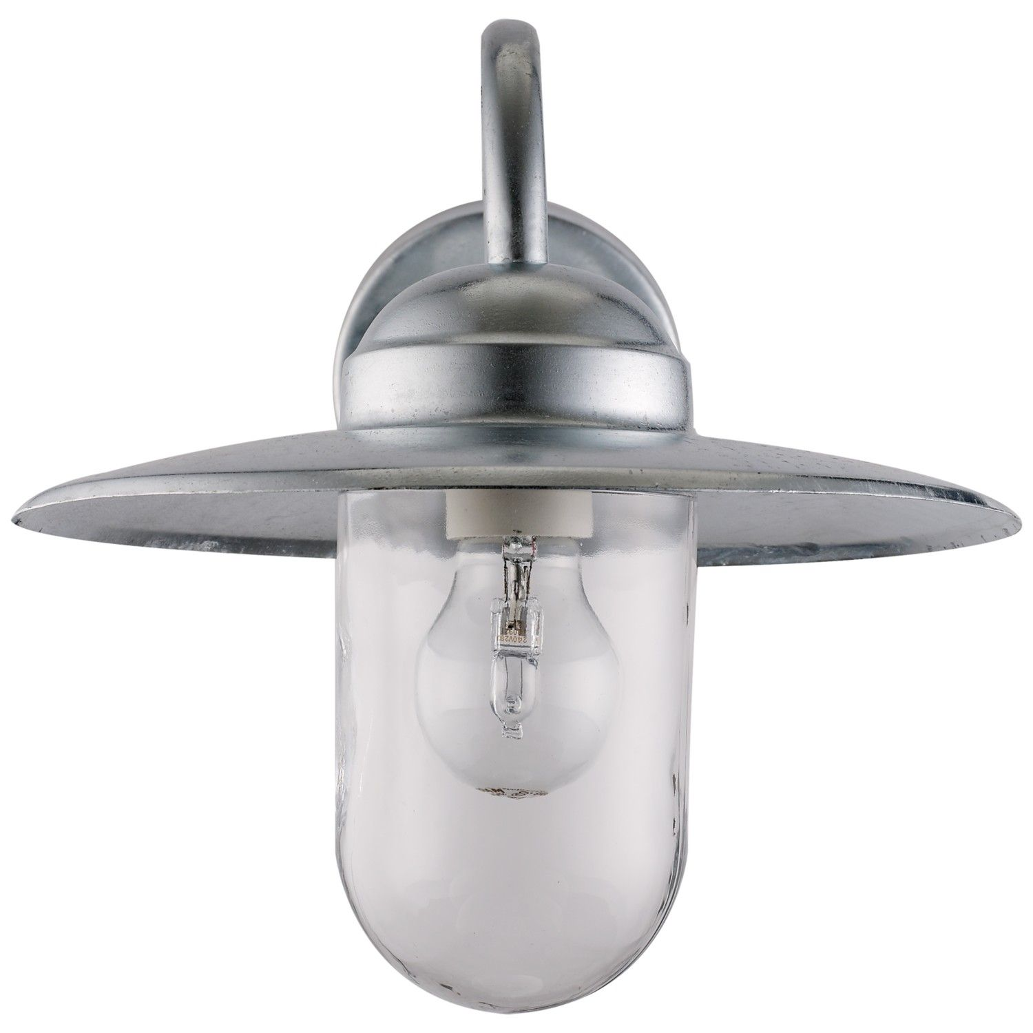 Nordlux Luxembourg Outdoor Wall Light With Pir Sensor Galvanised