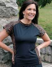 Weekend Safari, a chlorine resistant UV protective water shirt Sungrubbies.com