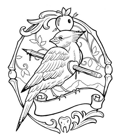 tattoo colouring book 2 - Google Search | Sweet Tattoos and Ideas ...