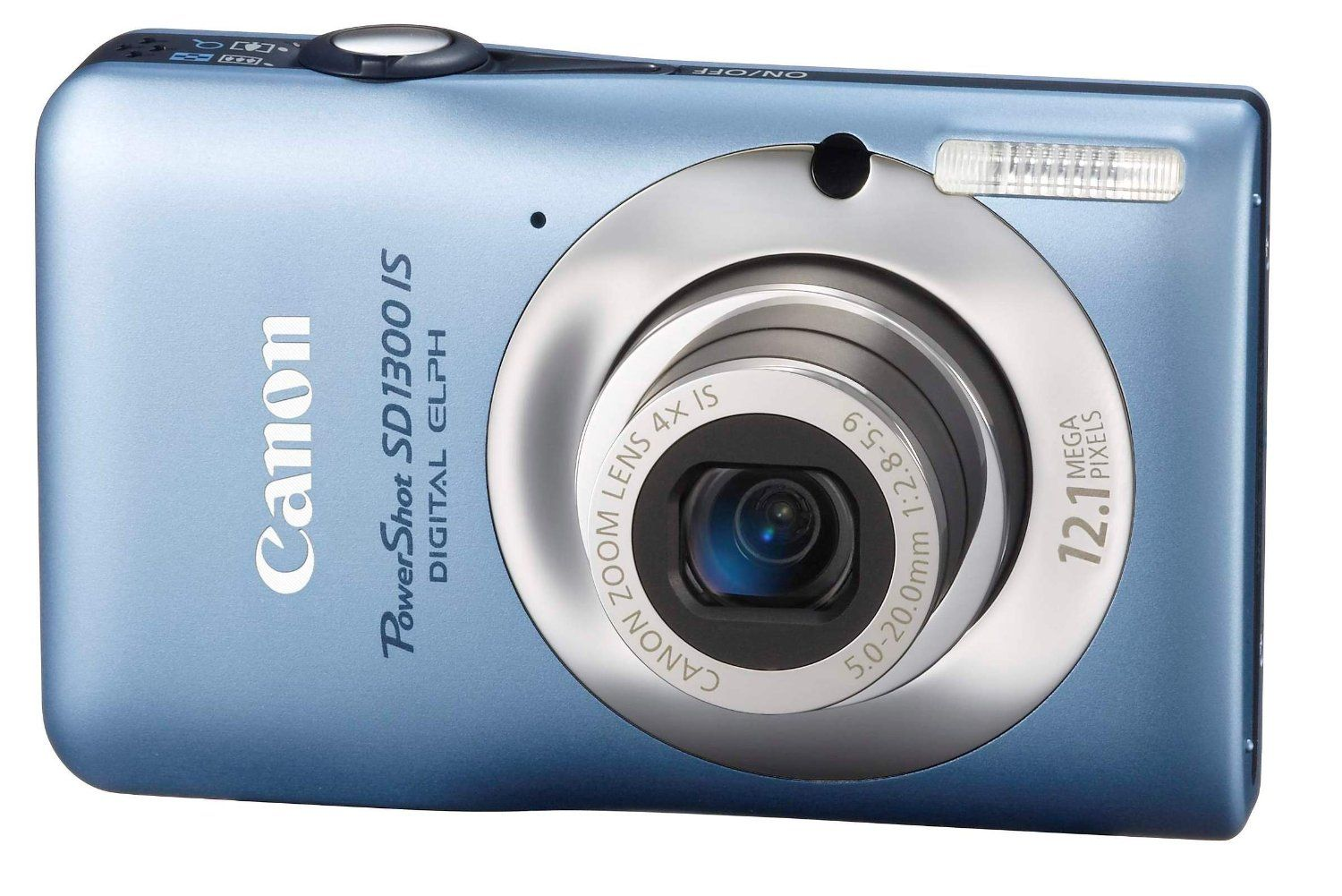 Canon Powershot Sd1300is 12 1 Mp Digital Camera With 4x Wide Angle Optical Image Stabilized Zoom And 2 7 Best Digital Camera Canon Digital Camera Optical Image