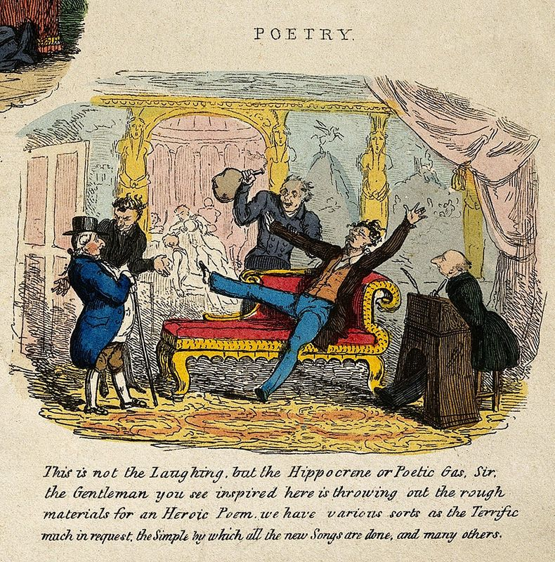 O Excellent Air Bag Humphry Davy And Nitrous Oxide The Public