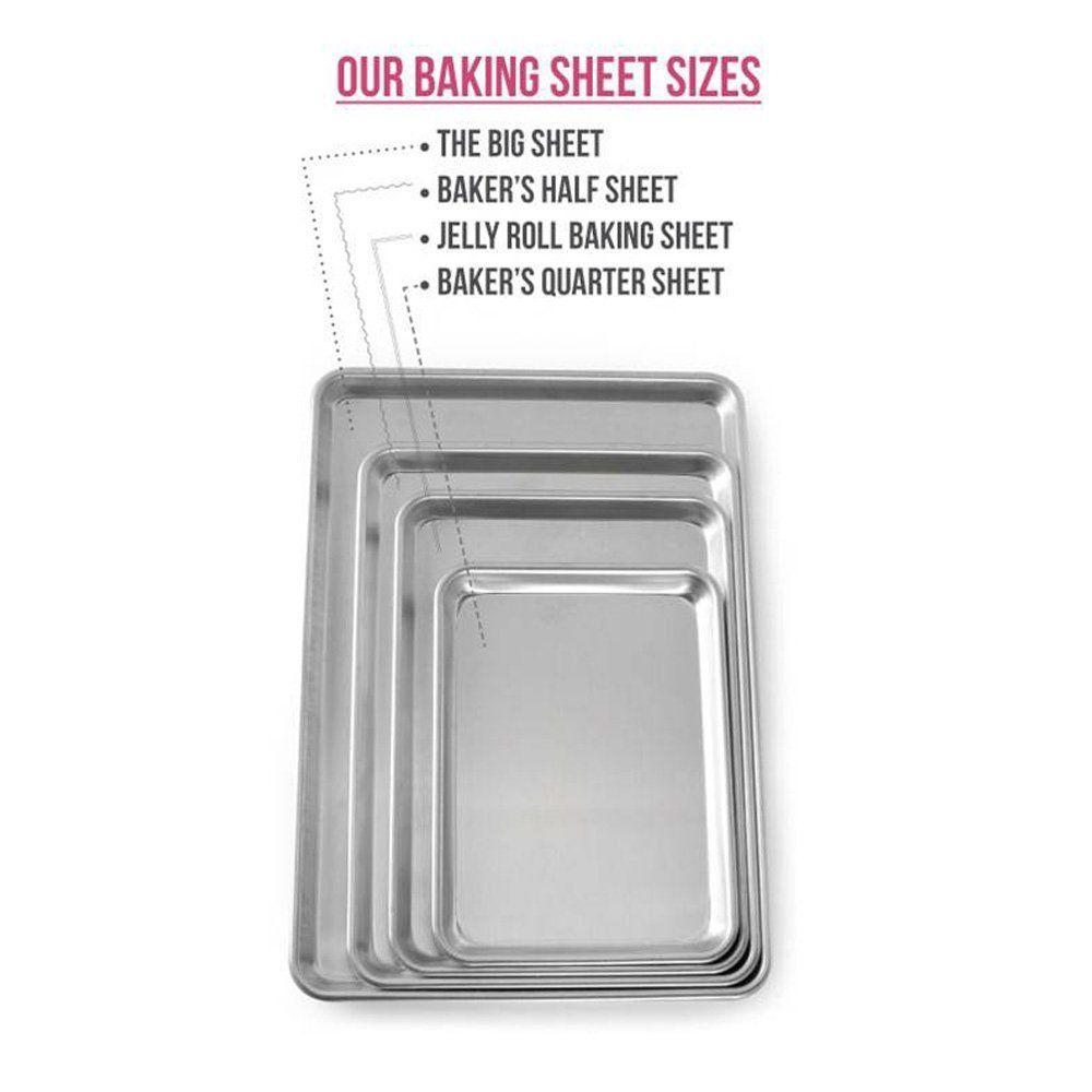 Amazon Com Nordic Ware Natural Aluminum Commercial Baker