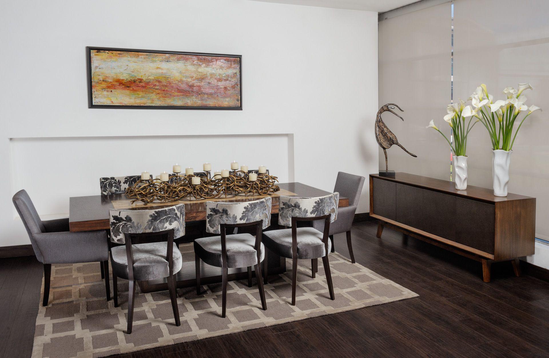 Silla de comedor soho con mesa de comedor catal n con for Mesas de marmol para comedor