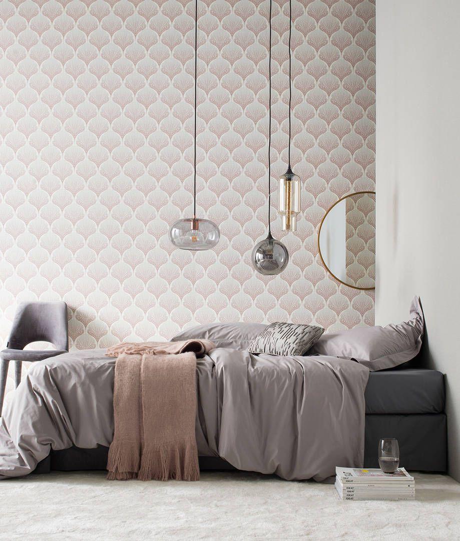 A S Creation Vliestapete Grafik Floral Beige Grau Rosa Weiss 363104 Tapeten Zimmereinrichtung Tapete Beige