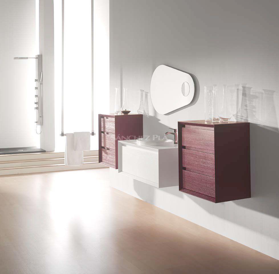 Mueble De Ba O Suspendido Con Lavabo De Porcelana De La Serie Nude  # Muebles Heima Roca