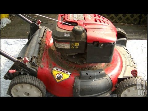 Fixing A Toro Lawn Mower Pull Cord That Won T Pull By New England Fine Living Youtube Push Mower Toro Lawn Mower Lawn Mower