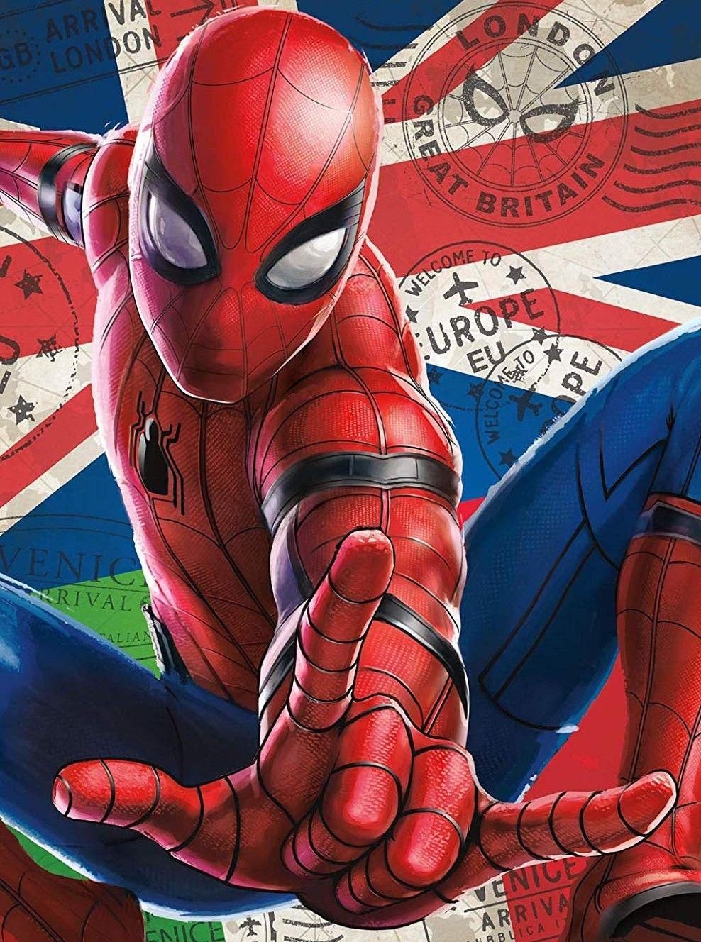 Spider Man Far From Home Fan Made Poster Marvel Wallpaper