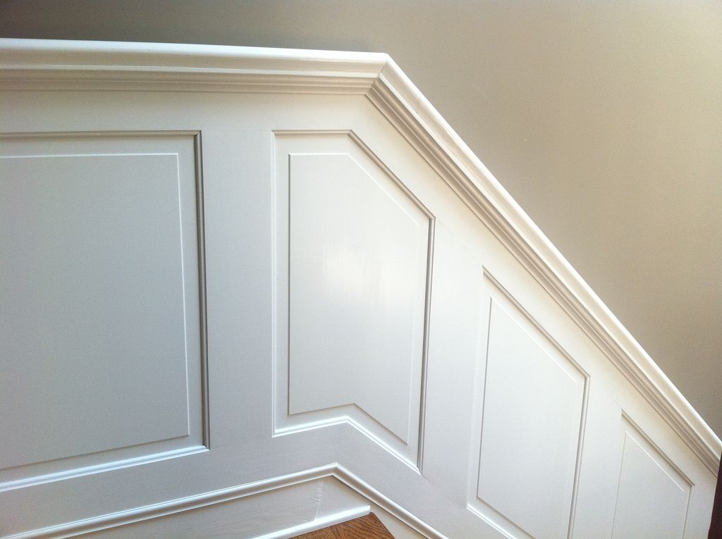 Best Hold On Tight Staircase Wainscoting And Handrail Project 400 x 300