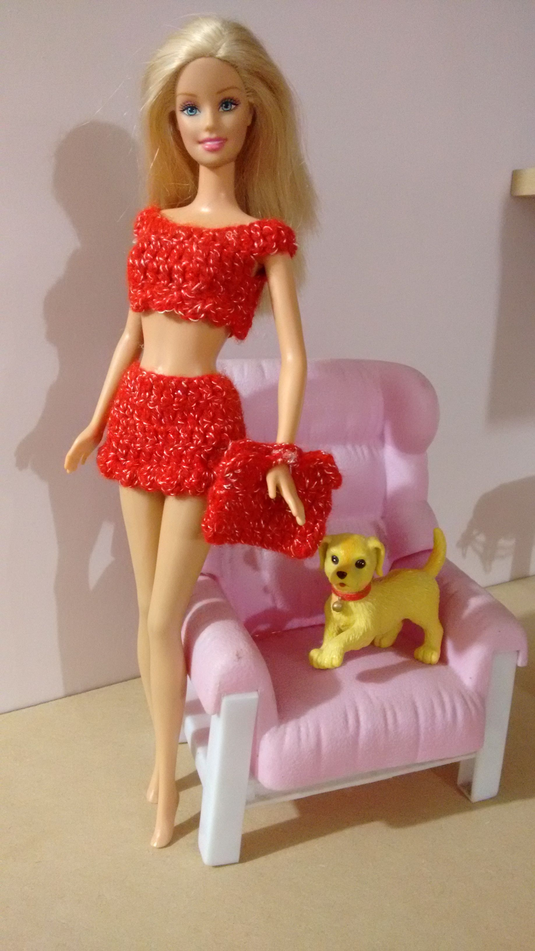 Pin de Rosi Balle en Crochet.vestidos para Barby | Pinterest ...