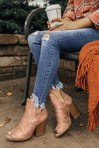 The Emery Faux Suede Bootie in Taupe #booties