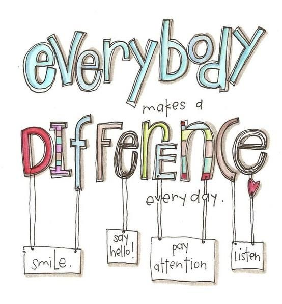 Juntos a gente faz a difereça.