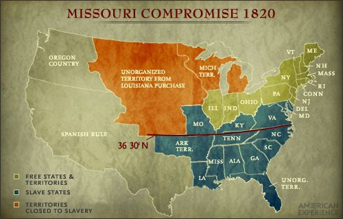The compromise of 1850 and missouri compromise essay