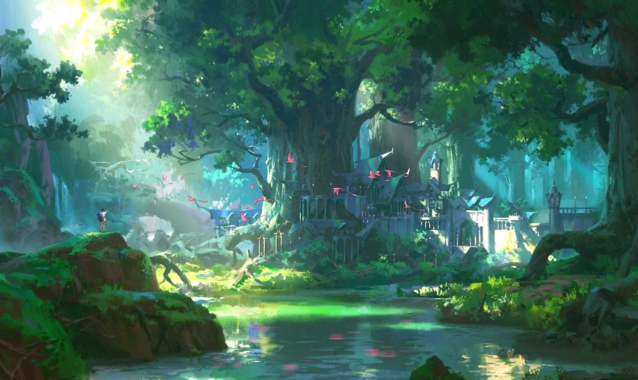 4k Wallpaper Anime Landscape Hd Art Wallpaper In 2020 Anime Scenery Wallpaper Hd Anime Wallpapers Scenery Wallpaper