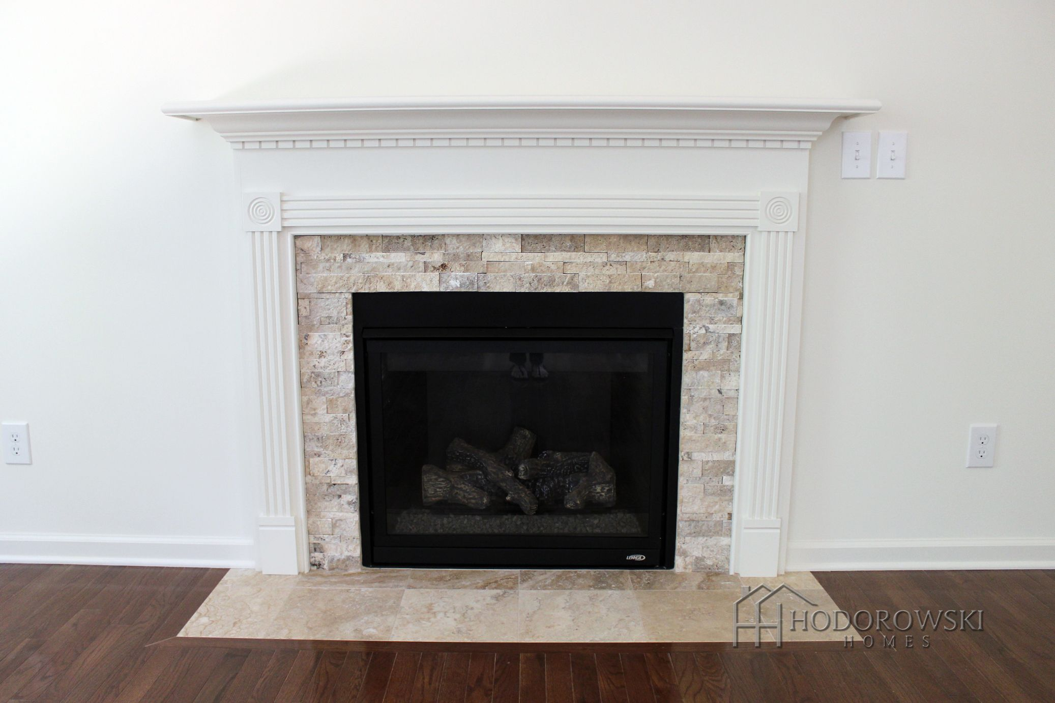 Philadelphia ledgestone fireplace face with 12x12 Philadelphia ...
