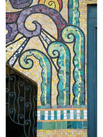 odorico la d couverte de la mosa que art d co pinterest la mosaique mosaique et la. Black Bedroom Furniture Sets. Home Design Ideas