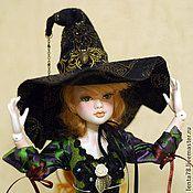 """Куклы и игрушки ручной работы. Ярмарка Мастеров - ручная работа Шарнирная кукла """"Ведьмочка"""". Handmade."""