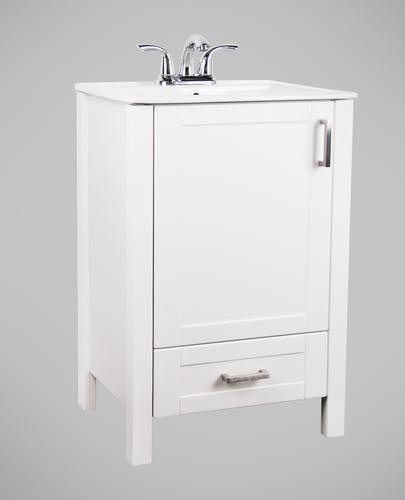 Dolphin Plumbing 22 Chicago Vanity Ensemble At Menards Upstairs Bathrooms Laundry In Bathroom Vanity