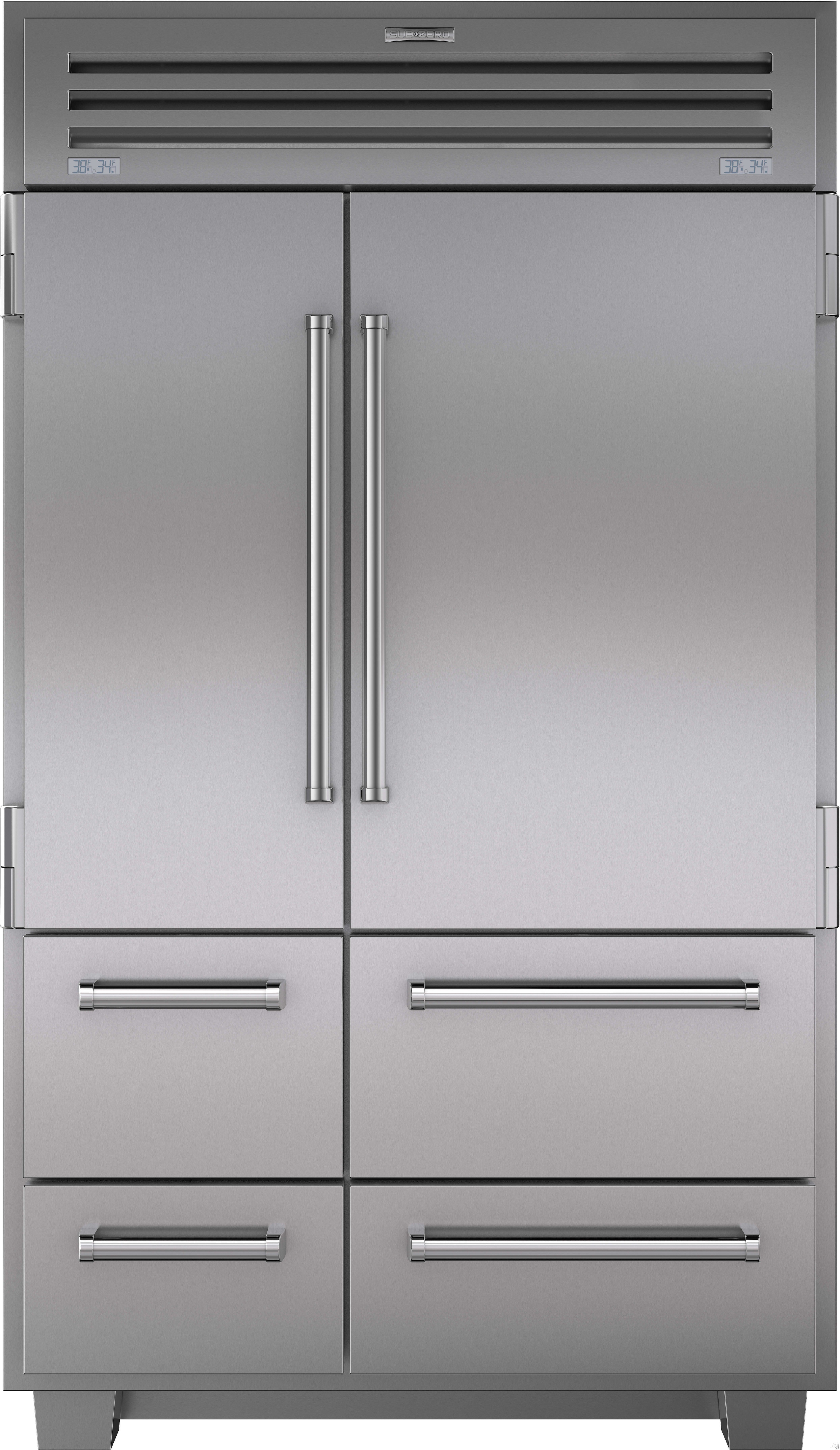 $16 950 Sub Zero 648PRO 48 Inch Built in Side by Side Refrigerator