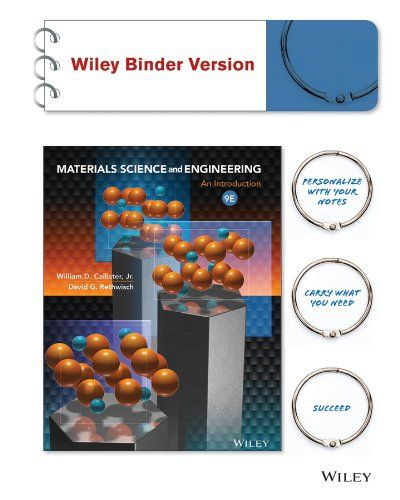 Material Science And Engineering William D Callister Materials