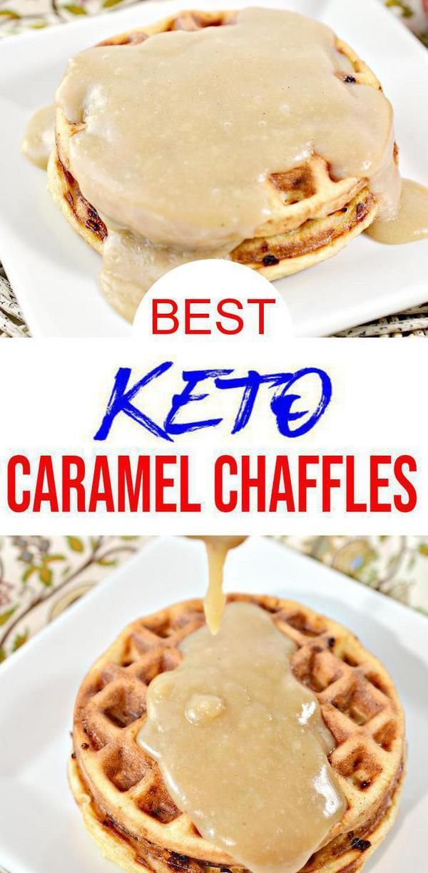 BEST Keto Chaffles! Low Carb Caramel Chaffle Idea – Homemade – Quick & Easy Ketogenic Diet Recipe – Completely Keto Friendly