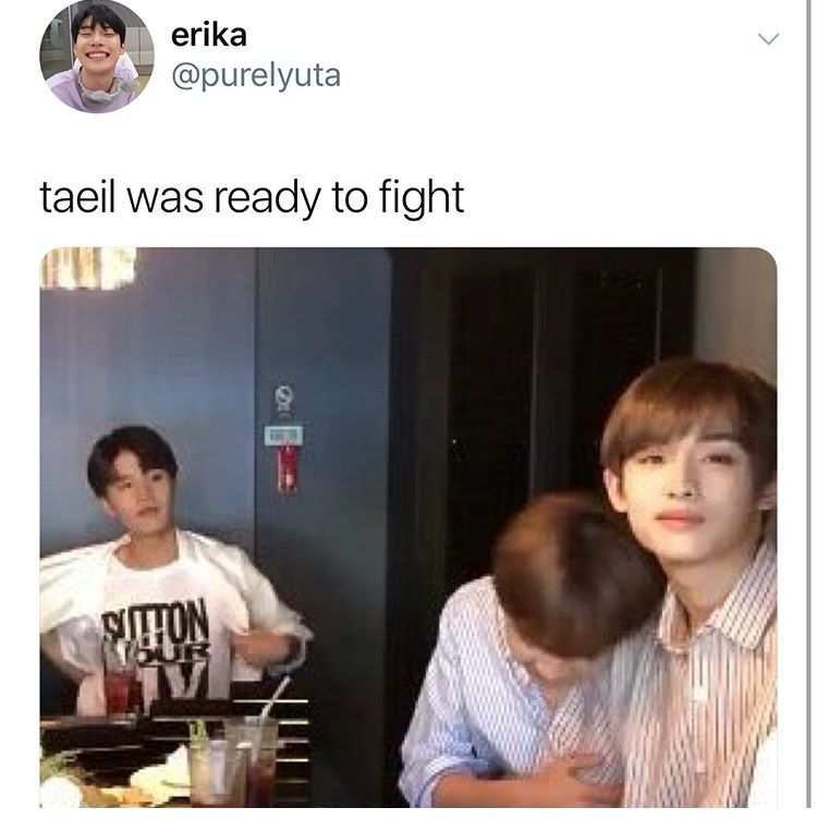 I Would Pay To Watch That Fight Winil Vs Winhyuck Nct Life Funny Kpop Memes Nct Dream