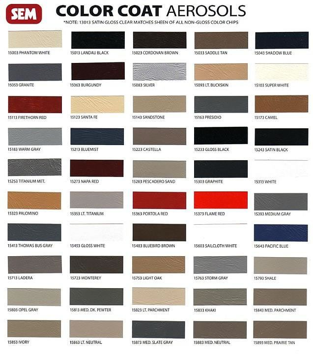 Vinyl Paint For Automotive And Marine Vinyl Sem Colorcoat Vinyl Spray Paint Vinyl Painted Vinyl Spray Paint Spray Paint Colors