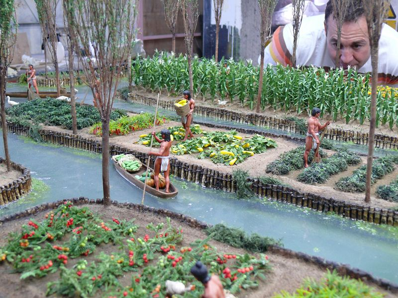 Aztec Agriculture - Rich and Varied