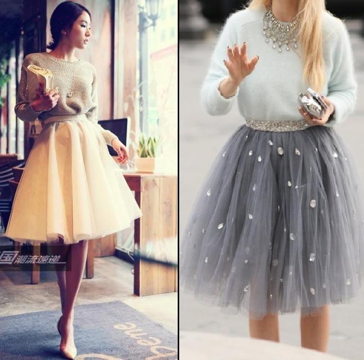 Tiulowe Spodniczki I Sukienki Voila Fashion Tulle Skirt Clothes