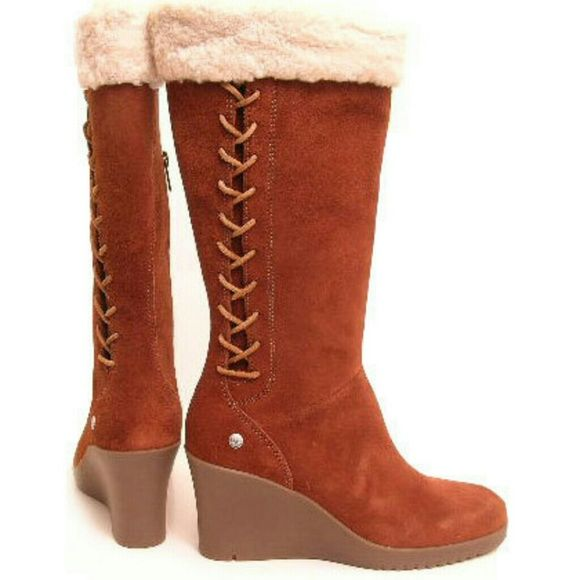 728a2bc5208 UGG Shoes | Nwot Ugg Australia Women'S Felicity Boots | Color: Brown ...