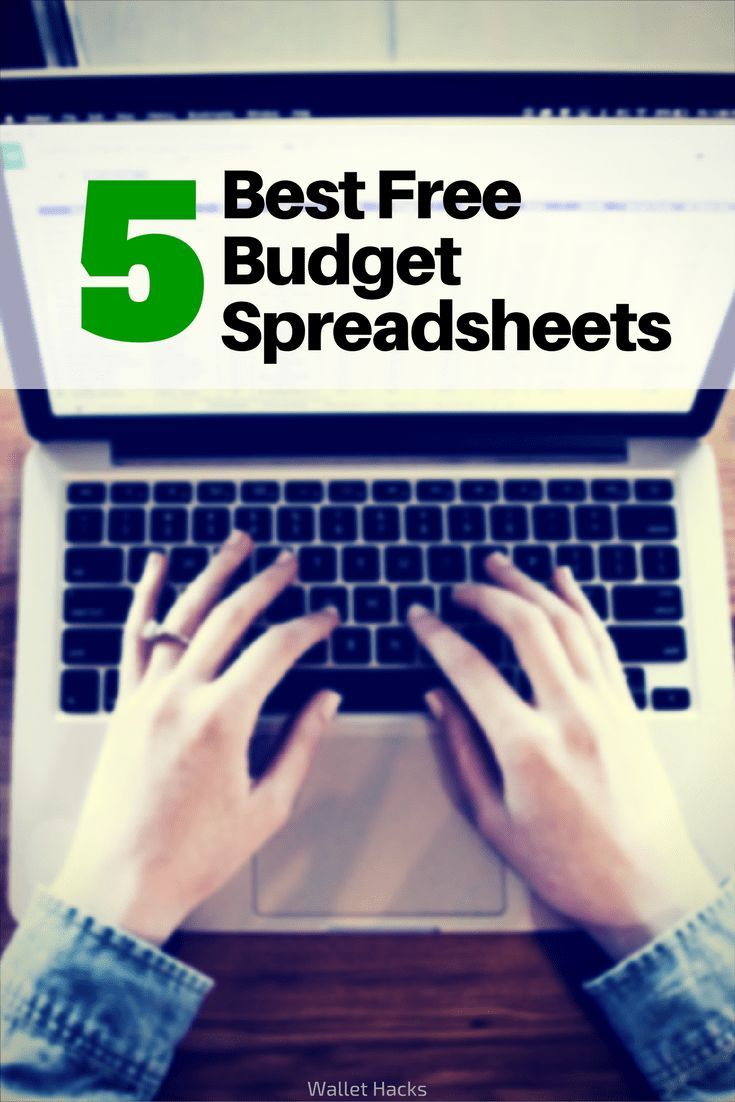 best microsoft excel budgeting spreadsheets