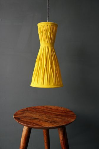 The Audrey Ceiling Light - Yellow