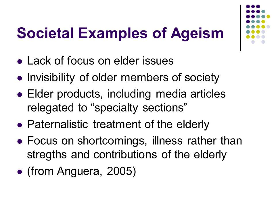 Social Problems Aging And Ageism Ppt Download Social Problem Social Gerontology