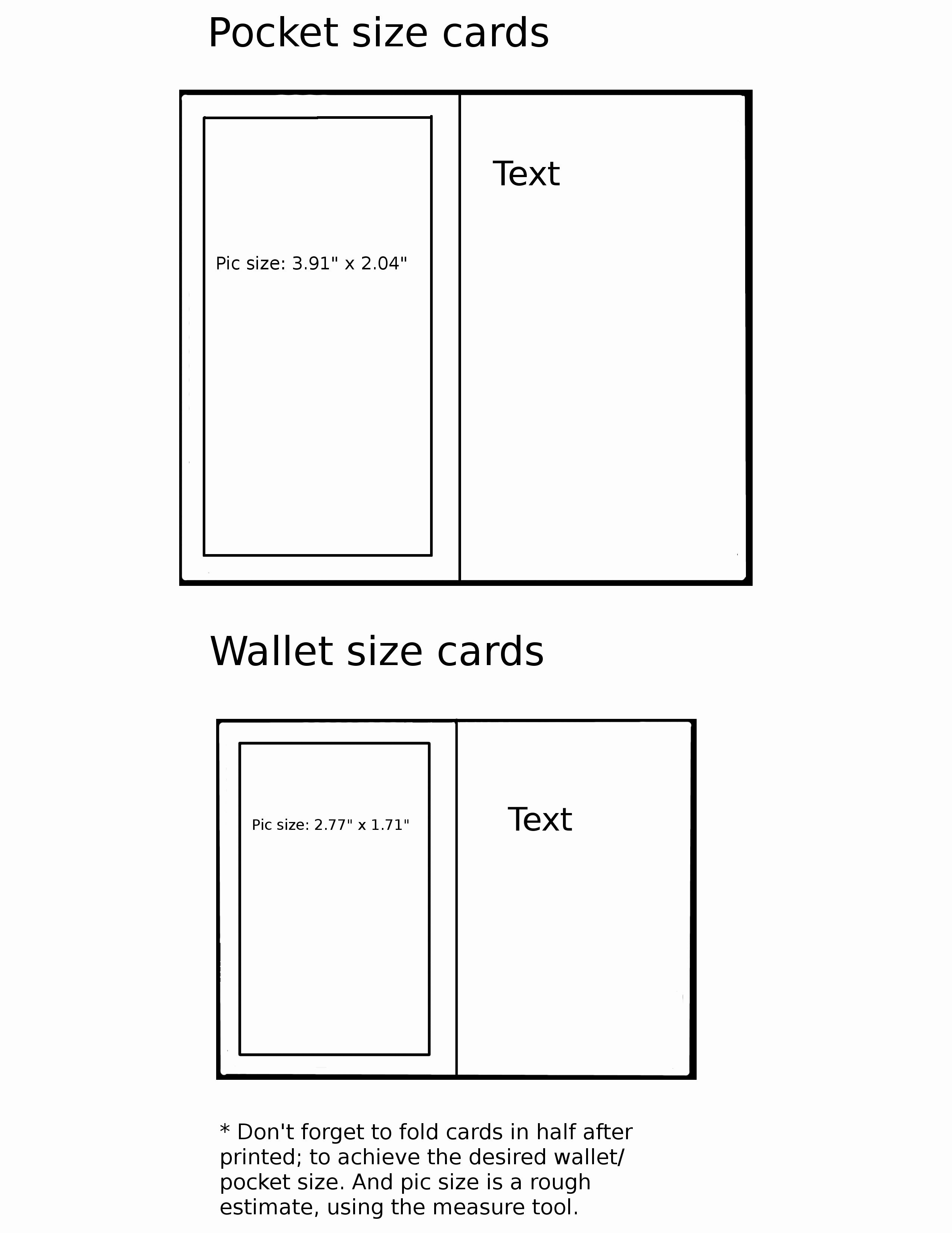Wallet Card Template Free Inspirational Pocket Wallet Card Template By Mystictempest On Deviant Card Templates Free Free Business Card Templates Card Templates