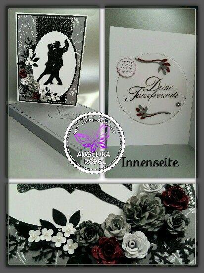 Trauerkarte für einen Tanzpartner