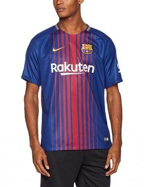 b95e75674e4 Nike Barcelona FC 2018-19 Stadium Soccer Home Jersey
