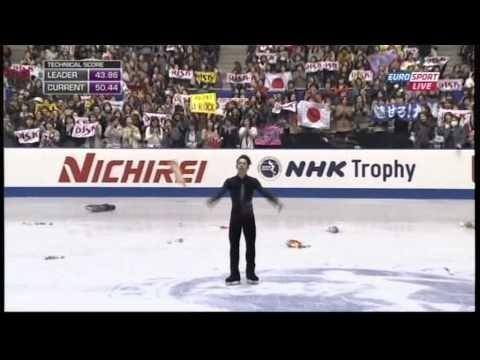 2013 NHK Daisuke Takahashi SP「 Violin Sonatina」