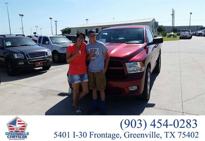 https://flic.kr/p/w1jHwc | Congratulations to Melissa Fromme on your #Ram #1500 from Mark Holcomb at Greenville Chrysler Jeep Dodge Ram! #NewCar | www.greenvillechrysler.com/?utm_source=Flickr&utm_med...