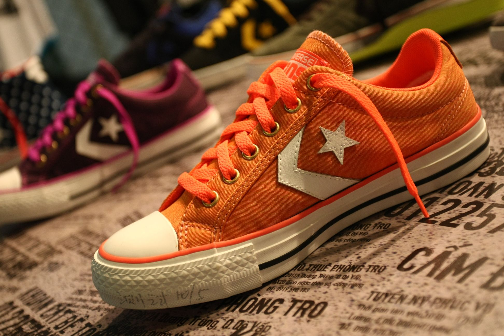 converse shoes types